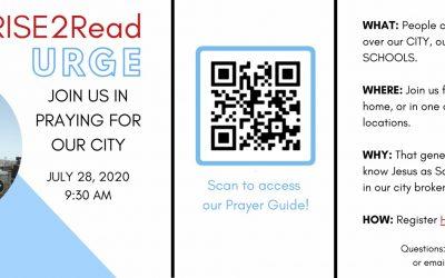 Register for the URGE Prayer Drive